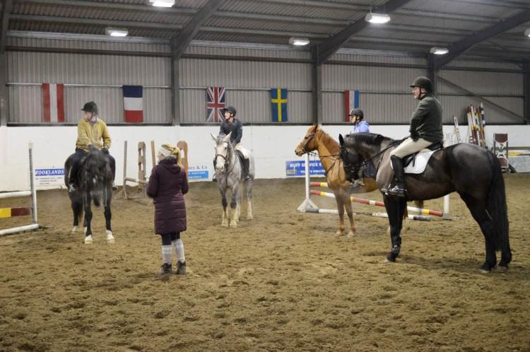 Riding club training 004