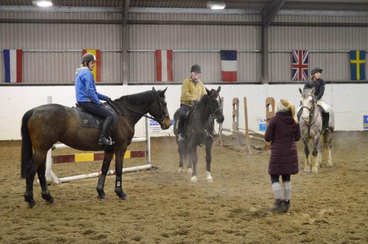 Riding club training 005
