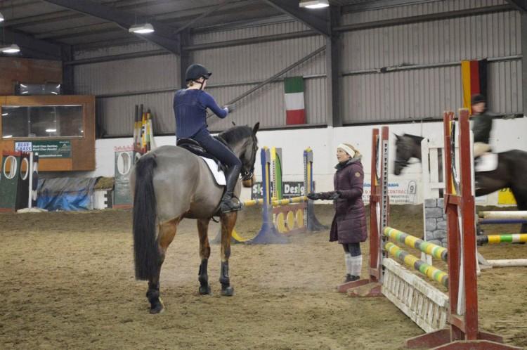 Riding club training 006