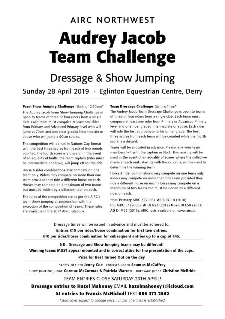 NW Team Challenge 2019